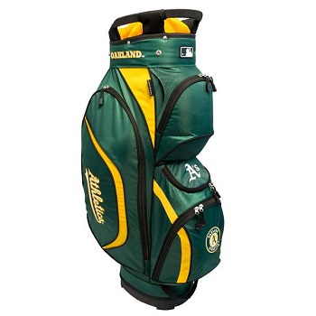 Oakland Athletics Clubhouse Cart Golf Bag