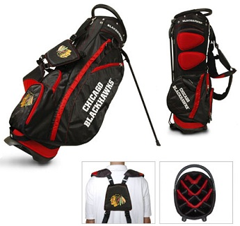 Chicago Blackhawks Carry Stand Golf Bag
