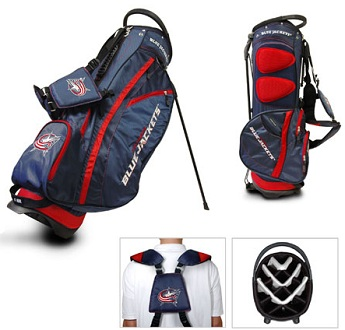 Columbus Blue Jackets Carry Stand Golf Bag