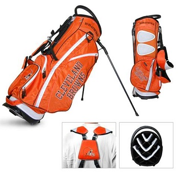 Cleveland Browns Carry Stand Golf Bag