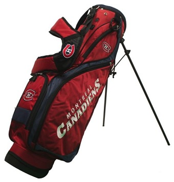 Montreal Canadiens Nassau Stand Golf Bag