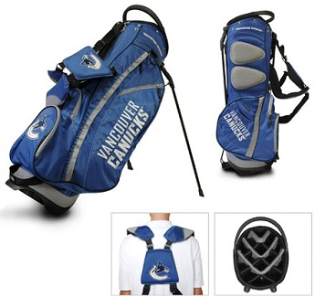 Vancouver Canucks Carry Stand Golf Bag