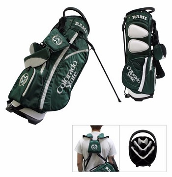 Colorado State Rams Carry Stand Golf Bag