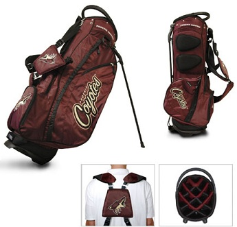 Arizona Coyotes Carry Stand Golf Bag