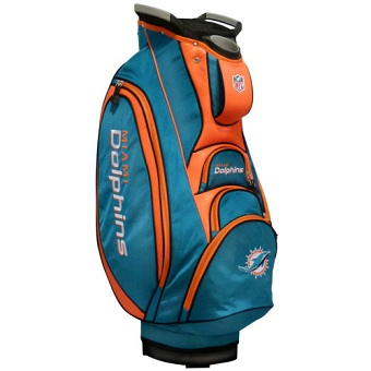 Miami Dolphins Cart Golf Bag