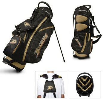 Anaheim Ducks Carry Stand Golf Bag