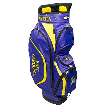 East Carolina Pirates Clubhouse Cart Golf Bag