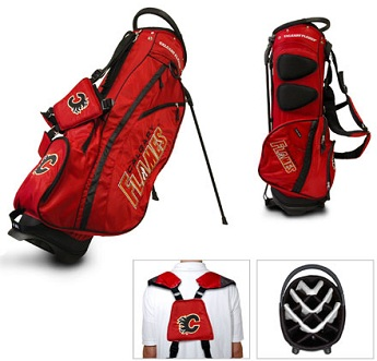 Calgary Flames Carry Stand Golf Bag