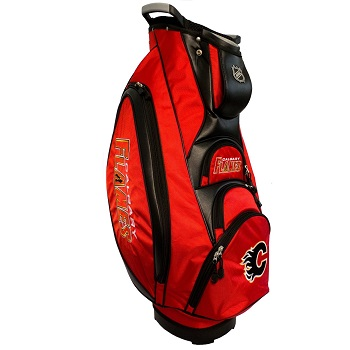 Calgary Flames Cart Golf Bag