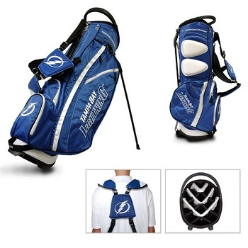 Tampa Bay Lightning Carry Stand Golf Bag