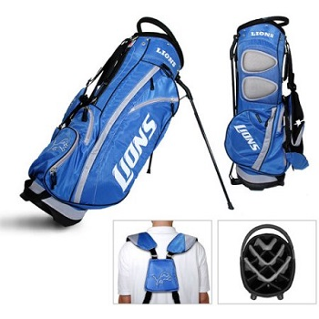 Detroit Lions Carry Stand Golf Bag