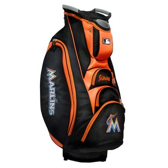 Miami Marlins Cart Golf Bag