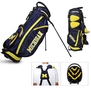 University of Michigan Carry Stand Golf Bag