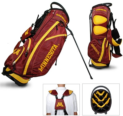 University of Minnesota Carry Stand Golf Bag