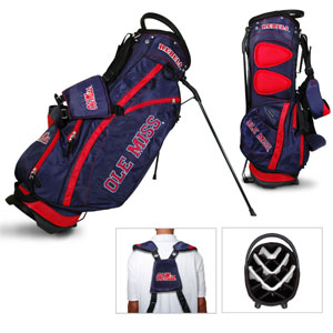 University of Mississippi Carry Stand Golf Bag