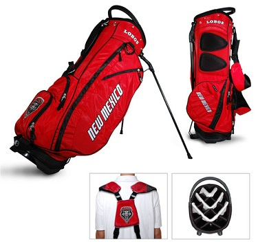 University of New Mexico Lobos Carry Stand Golf Bag