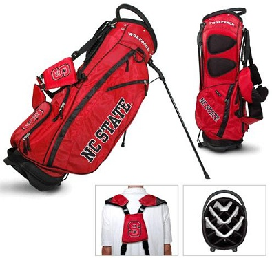 North Carolina State Carry Stand Golf Bag
