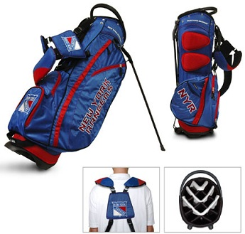 New York Rangers Carry Stand Golf Bag