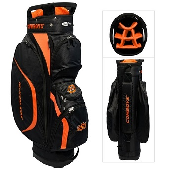 Oklahoma State Cowboys Clubhouse Cart Golf Bag