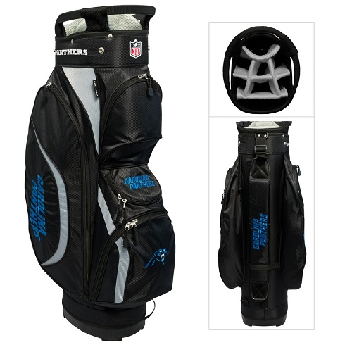 Carolina Panthers Clubhouse Cart Golf Bag