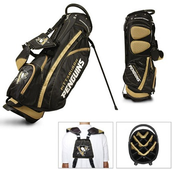 Pittsburgh Penguins Carry Stand Golf Bag