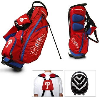 Philadelphia Phillies Carry Stand Golf Bag