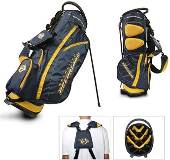 Nashville Predators Carry Stand Golf Bag