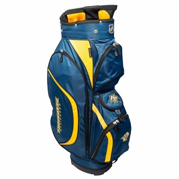 Nashville Predators Clubhouse Cart Golf Bag