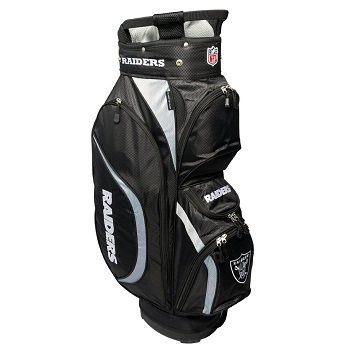 Oakland Raiders Clubhouse Cart Golf Bag