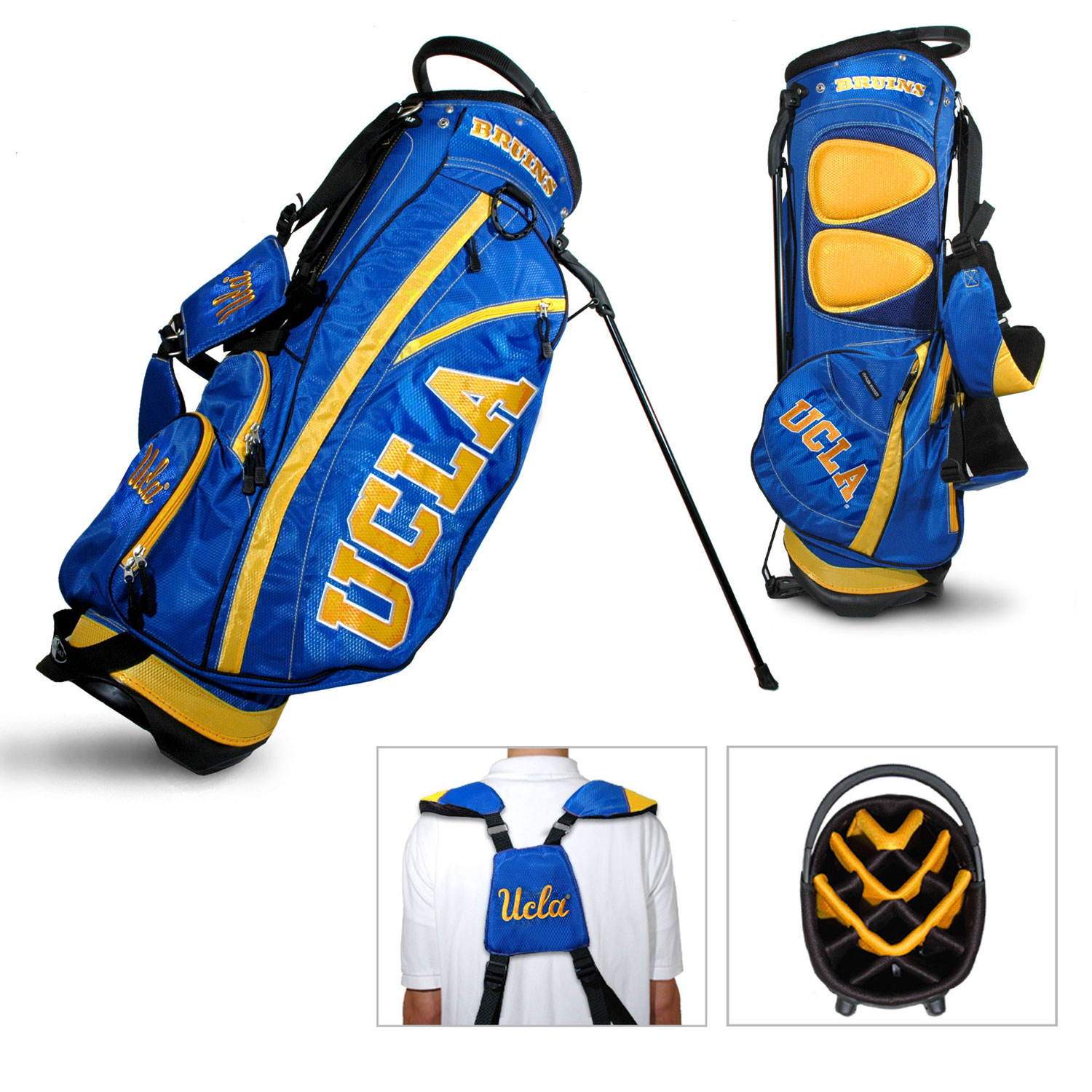 UCLA Bruins Carry Stand Golf Bag