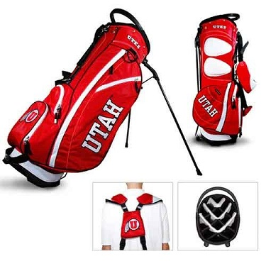 University of Utah Utes Carry Stand Golf Bag