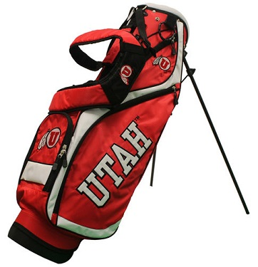 University of Utah Utes Nassau Stand Golf Bag