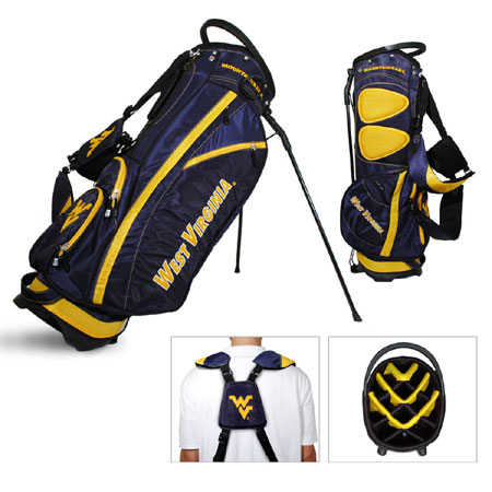 West Virginia Mountaineers Carry Stand Golf Bag