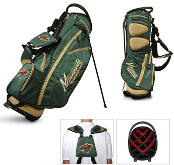 Minnesota Wild Carry Stand Golf Bag