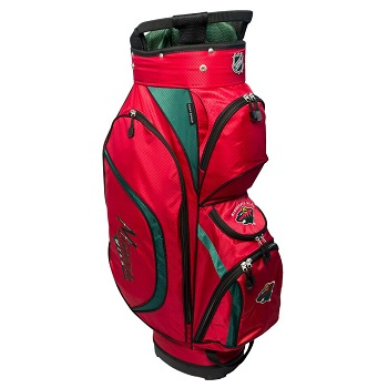 Minnesota Wild Clubhouse Cart Golf Bag