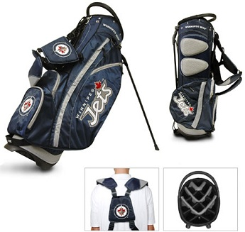 Winnipeg Jets Carry Stand Golf Bag