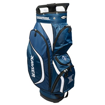 Xavier Musketeers Clubhouse Cart Golf Bag
